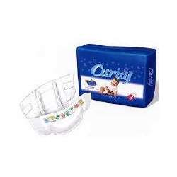 Curity Ultra Fits Disposable Baby Diapers by Kendall Size 2 (12 - 18 lbs), Case of 8/34s (272 ct)