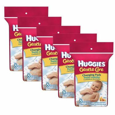 Huggies Gentle Care Changing Pads- 40 pk.