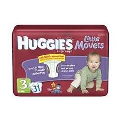 HUGGIES SUPREME L/M STEP 3 Size: 4X31