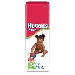 HUGGIES SNUG/DRY STEP 3 55503 Size: 4X36