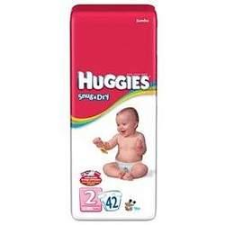 HUGGIES SNUG/DRY STEP 2 55502 Size: 4X42