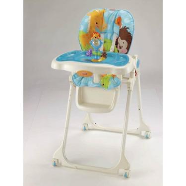 Fisher-Price Precious Planet High Chair, Sky Blue