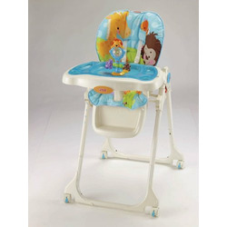 Fisher-Price Precious Planet High Chair, Sky Blue