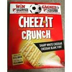 Cheez-It Crunch Baked Snack sharp white cheddar