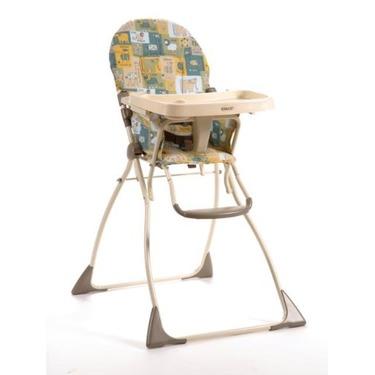 Cosco Flat Fold High Chair, Wild Adventure