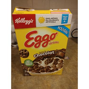 Kellogg's eggo cereal chocolate flavor