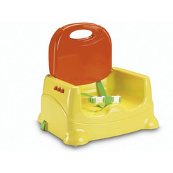 Fisher-Price Healthy Care Booster Seat, Yellow and Orange