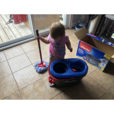 Vileda EasyWring RinseClean Spin Mop System
