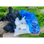 Glad garbage bag samples
