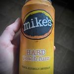 Mikes hard peach fuzz