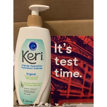 Keri Intense Hydration Original Fragrance Free Essential Moisturizers