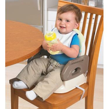 Summer Infant Deluxe Comfort Booster- Tan