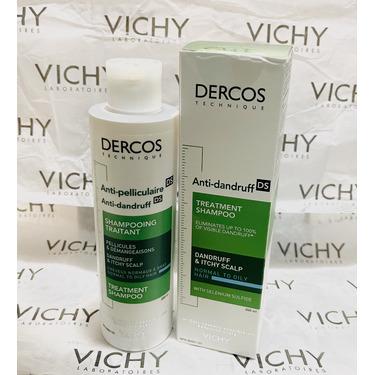 Vichy Laboratories Dercos Technique Anti-Dandruff Shampoo Treatment for Normal to Dry Hair