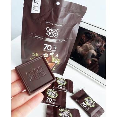 Choc zero 70% cacao dark chocolate