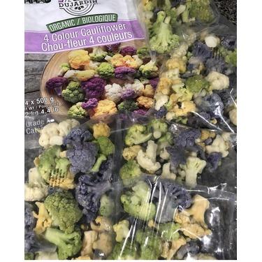 Dujardin organic 4 colour cauliflower