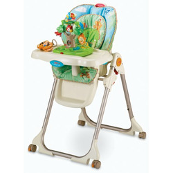 Fisher-Price Rainforest Deluxe High Chair