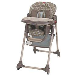 Graco Cozy Dinette Highchair, Barcelona Bluegrass