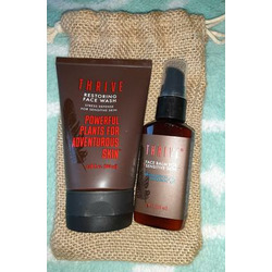 Thrive Restoring Skincare Kit for Women & Men with Sensitive Skin (2 Piece) – Vegan Gift Set & Made in USA