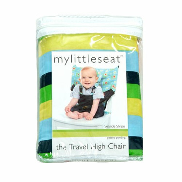 My Little Seat Infant Travel High Chair, Colored Stripes