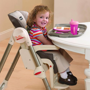 Chicco Polly Double Pad Fabric Highchair, Adventure