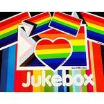 Pride stickers from Jukebox