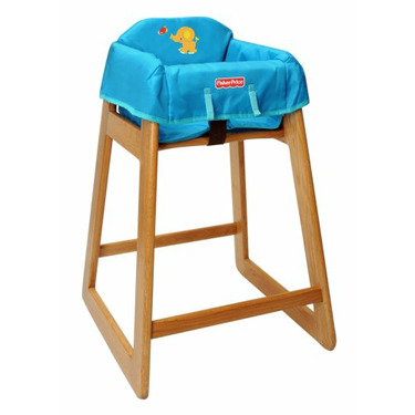 Fisher-Price Precious Planet Portable High Chair Cover, Blue
