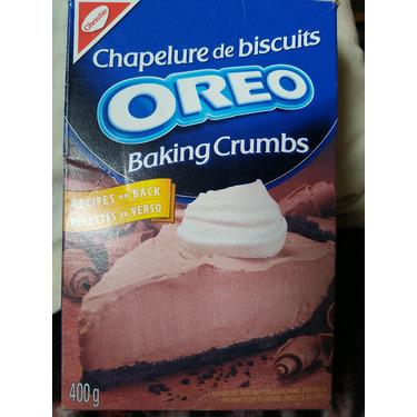Oreo baking crumbs