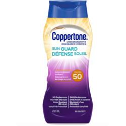coppertone sunguard sunscreen lotion spf 50