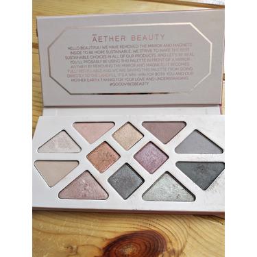 Aether beauty Rose Quartz Crystal Gemstone eyeshadow palette