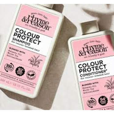 Rhyme and reason colour protect shampoo and conditioner