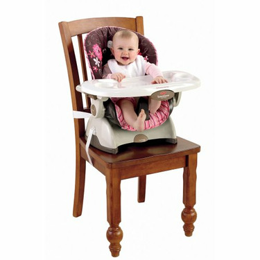 Fisher-Price Space Saver Highchair - Beautiful Garden