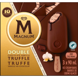 Magnum Double Chocolate Vanilla Truffle Ice Cream