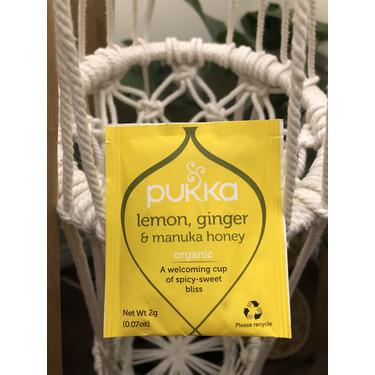 Pukka herbs lemon ginger honey