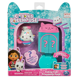 Gabby's Dollhouse Friendship Pack with Cakey Cat