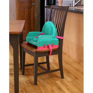 Regalo Right Height Booster Seat, Watermelon