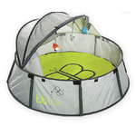 Bbluv nido 2 and 1 travel bed and play tent