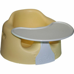Bumbo Baby Sitter and Tray Combo - Yellow