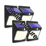 CLAONER Outdoor solar lights with motion detector