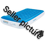 Lunvon Double Size Inflatable Mattress with Refillable Pump
