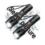 Wowlite Pack of 2 Tactical Flashlights