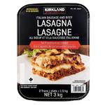 Costco Kirkland Signature Lasagna