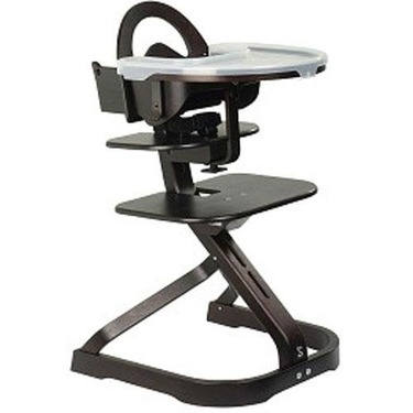 Svan High Chair with Infant Kit and Tray Cover - Espresso