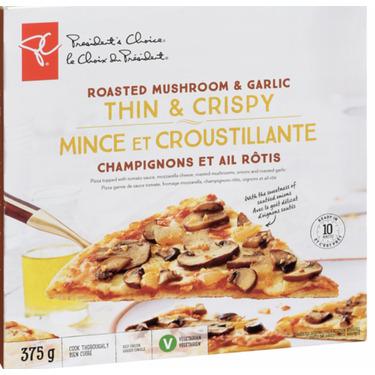 PC Thin & Crispy Mushroom Pizza