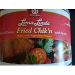 loma linda fried chik'n with gravy