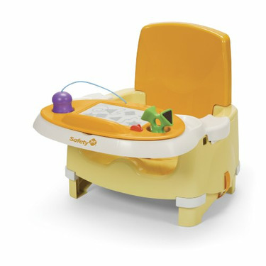 Safety 1st Snack and Scribble Booster Seat, Yellow