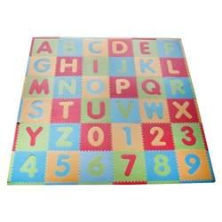 Tadpoles ABC Floor Mats, Modern