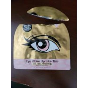 SF Eye Woke Up Like This Gold Foil Eye Mask