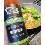 Good food for good organic sugar-free ketchup