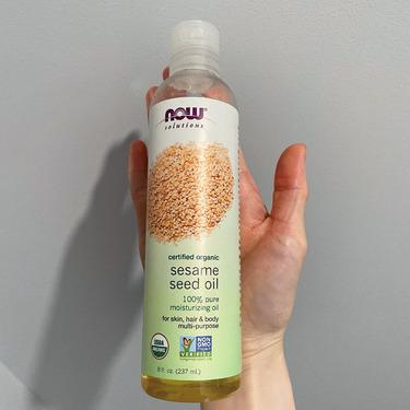 Now Foods Organic Sesames oil