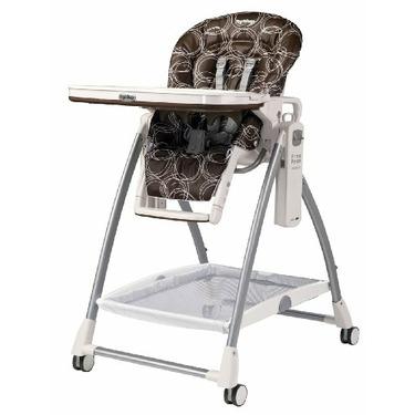 Peg-Perego Prima Pappa High Chair, Cocoa, Newborn